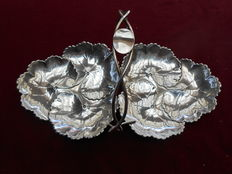 Cesto Tiffany & Co in argento sterling - U.S.A, 1873-1891