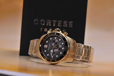 Cortese Nautilo Diver quartz chronograph – Men's watch – Never worn – Mint condition, 721-2017