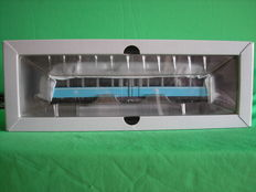 "Märklin H0 - 37580 -  Panorama train Series 491 of DB ""Glaserner Zug"" with lights"
