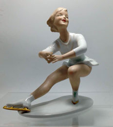 Wallendorf - ICE SKATER - Figurine