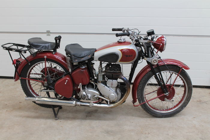 BSA - WM20 - 500 cc - c.1938