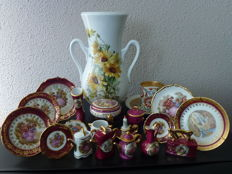 Collection of 21 pieces Limoges Porcelain