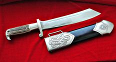 German RAD ( Reichsarbeitsdienst ) Hauer dagger - WW2 Germany almost mint condition
