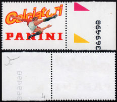 Italy 2006 – 'Panini' variety, without the black printing.