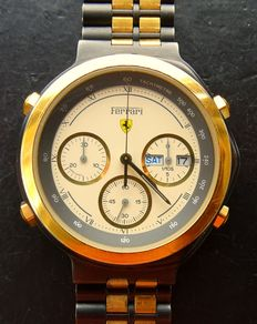 Ferrari by Cartier, Formula 1 sport, collector's item - men's chronograph 1993