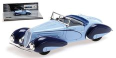 Minichamps - Scale 1/43 - Delahaye Type 135-M Convertible 1937