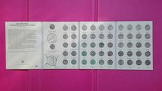 United States – 25 Cents 1999/2008 'State Commemorative Quarters' (52 coins) in album book
