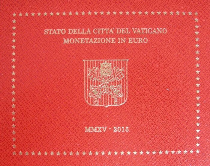 Vatican - Year pack 2015 Franciscus I