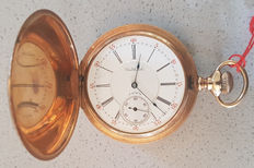 Waltham Riverside – Savonette pocket watch – circa 1900