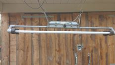Maker unknown – industrial ceiling light