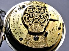 Richard Shrivell, Brighton - Verge fusee pocket watch - y. 1800 - In working order
