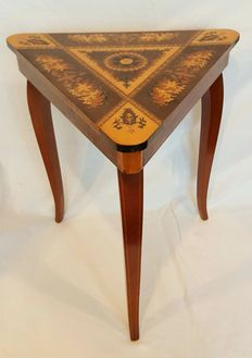 Music table / music box table - Italy - second half of the 20th century