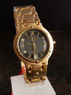 Krug Baümen Charleston Diamond, men's wristwatch, never worn