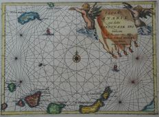 Spain, Canary Islands; V Coronelli - Isole Canarie (...) - 1692