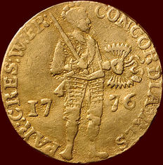 West-Friesland - 1776 Dutch ducat - gold