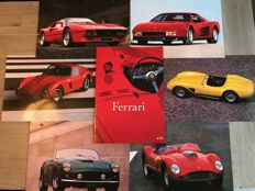 Ferrari - rare portfolio of 6 photographs
