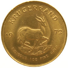 South Africa – 1 Krugerrand 1972 – 1 oz of gold