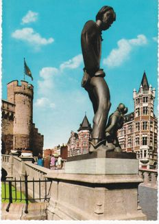 Belgium - Antwerp 160 x and 12 mini-cards
