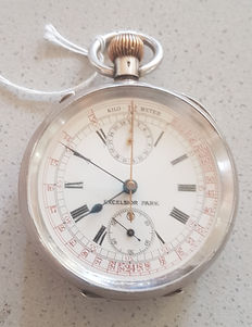 Excelsior Park - Lepin pocket watch - chronograph - circa 1915