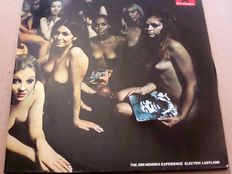 The Jimi Hendrix Experience - 2LP Electric Ladyland - England Press - Polydor 2612037
