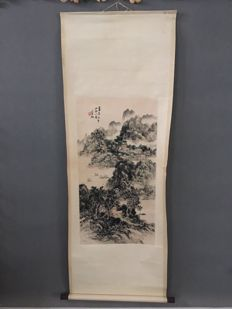 Partially hand painted after Huang bin hong - China - late 20th century