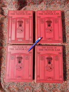 1913 - 1920 complete 4-delige serie The book of the motorcar by Rankine Kennedy