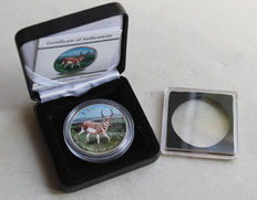 Canada – 5 dollars 2013 'Pronghorn Antelope' – 1 oz silver