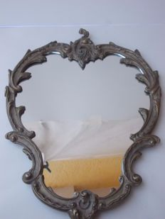 Baroque wall mirror, France, around 1900