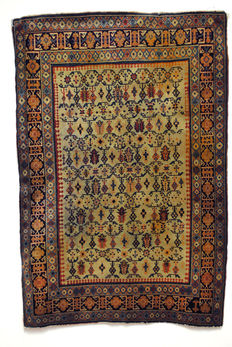 Highly collectible Caucasian rug, Chi-Chi, Tschi-Tschi, Kuba or Daghestan, early 20th century.