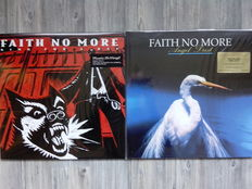 """Lots Of 3 Original Albums Of Faith No More,  2 Lp 180 Grams Angel Dust Includes hidden bonus track """"Easy"""", 2 Lp King For A Day Fool For A Lifetime 180 Grams,  Album Of The Year 180 Grams"""