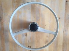 Fiat 600 oldtimer steering wheel incl. horn button