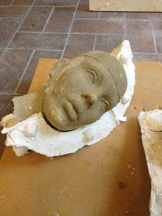 Moulds of various heads/body parts