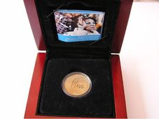 "Netherlands Antilles – 10 Guilder coin 2005 ""Jubilee"" – gold"