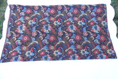 Tapestry - 2.9 m long x 1.29 m wide. For sofa - Tapestry - Goblin style - wool - first half 20th - in patterns of flowers and acanthus