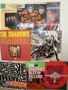 "Great ""The Shadows"" collection: 7 Legendary LP's + 3LP box ""Shadoogie"""