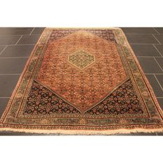 Exclusive hand-knotted Persian carpet, collector's carpet, genuine Bidjar, 175 x 115 cm
