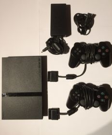 PlayStation 2 Slim complete with 11 games
