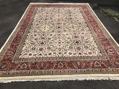 Large Indian oriental carpet! Very valuable! Investment! Oriental carpet, hand-knotted