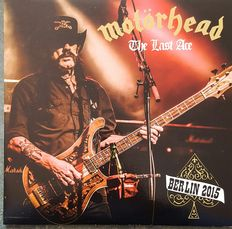 """Motorhead   A Lot 4 LPS """"The Last Ace""""  2 LPS  Clear Vinyl Incl Poster PLUS  After Scock  Limited Edition 2 Record set"""