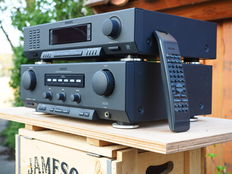 Philips F-930 set consisting of FA-930 digital amplifier and FT-930 FM, MW and LW Tuner with RDS