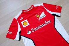 Genuine 2012 Ferrari Racing Team Puma race tee