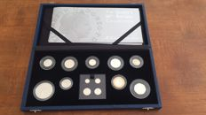 United Kingdom - Coinset 2006 'The Queen's 80th Birthday Collection' (13 coins) in set - silver