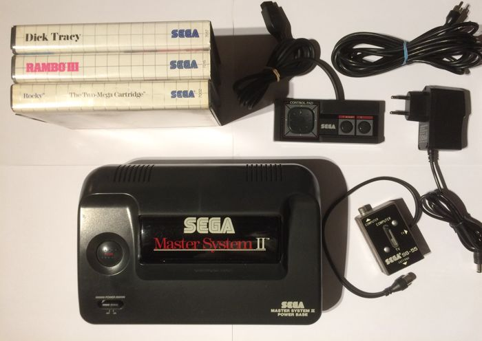 Sega master system 2 console complete with games catawiki - Console sega master system 2 ...