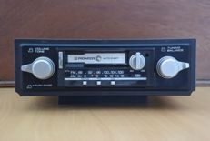 Pioneer KP-3200 classic stereo radio cassette player from 1988 for modern classic car