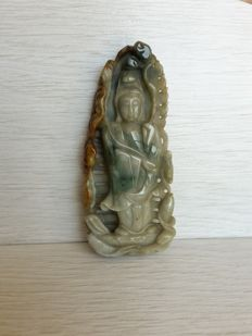 Jade Guanyin - China - second half 20th