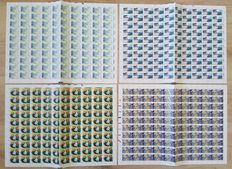 The Netherlands 1986 - Complete year in sheets of 100