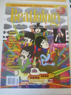 54 Beatles Beatology magazines 1998 - 2006 (47 unique magazines  + 7 double)