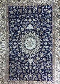 Persian Nain XL Rug Carpet 360x250cm