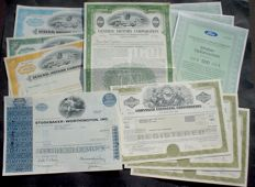 8 x US Cars, Ford Motor, General Motors, Studebaker + Chrysler