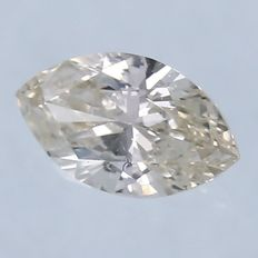 Marquise Brilliant Diamond – 0.17 ct. - *** NO RESERVE ***